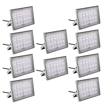 Foco proyector LED 100W para exteriores, luz de seguridad,IP65 ...