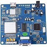 Atomic Market VGA/RGB/CGA/EGA/YUV TO HDMI Video Output Converter Board HD Arcade Blue