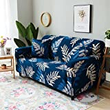 SKY-HAWK Living Room Decor Spandex Elastic Polyester Sofa Cover Starry Sky Tropical Plants Floral Slipcovers All-inclusive Couch Cover