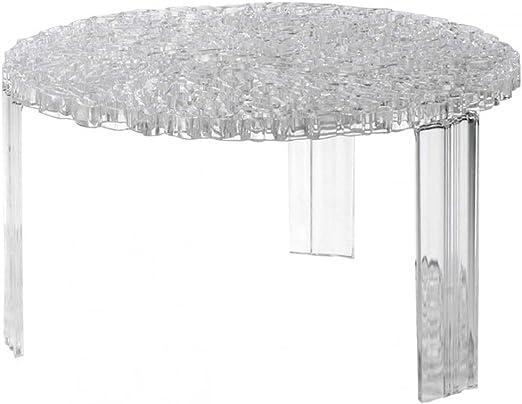 Kartell T Table Tavolino Bianco 50 X 50 X 28 Cm Amazon It Casa E Cucina