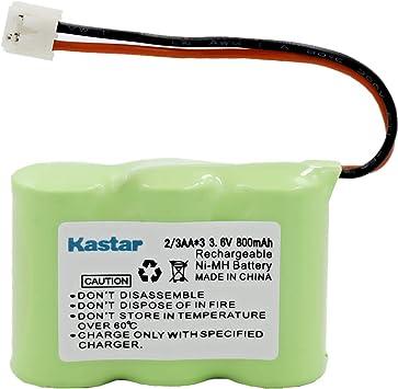 Vtech 80-5074-02-00 Batería de Teléfono inalámbrico Ni-CD, 3.6 Volt, 400 mAh: Amazon.es: Electrónica