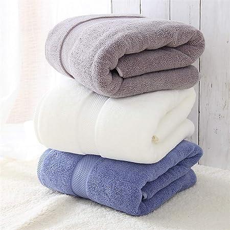 CVKL Toalla de baño 1 PC 80 * 160 cm 800 g Gruesas Toallas de baño ...