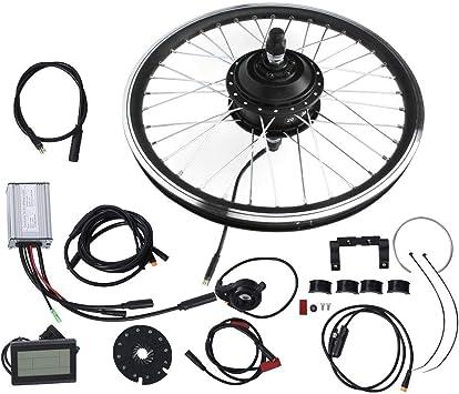 Jacksking Kit de Motor de Bicicleta eléctrica, Pantalla ...