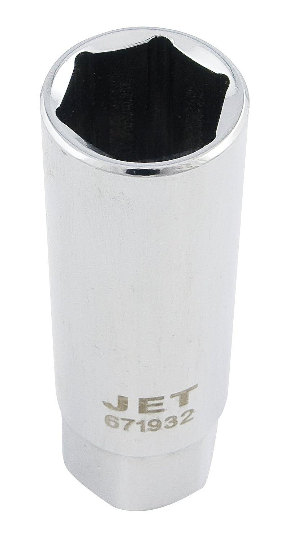Jet 671932-3/8-Inch Drive, 5/8', SAE Spark Plug Chrome Socket 5/8 JET Equipment & Tools