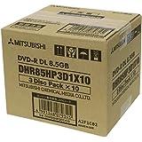 三菱ケミカルメディア 1回記録用 DVD-R DL DHR85HP3D1X10 3枚パック5mmプラケース×10個入り (片面2層/8倍速/30枚)