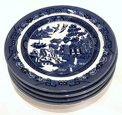 Johnson Bros Blue Willow - Johnson Brothers Bros Blue Willow Salad Plate, Set of 4