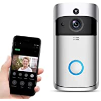 Zippem Home Wireless Real-Time Two-Way Talk Video Doorbell System