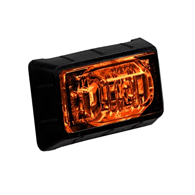 "Maxxima M09360Y 3 LED Amber 1.5"" Rectangular Mini Clearance Marker Light: Automotive"