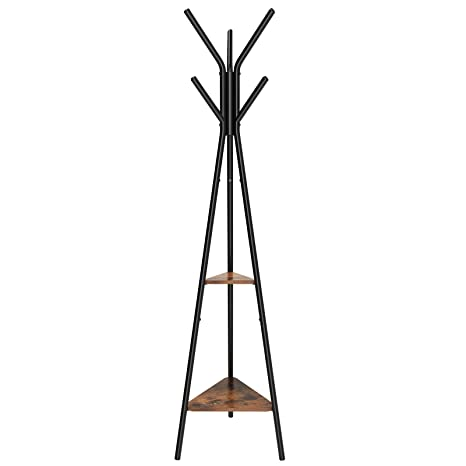 Amazon SONGMICS Coat Rack Stand Coat Tree Hall Tree Free Classy Vintage Standing Coat Rack
