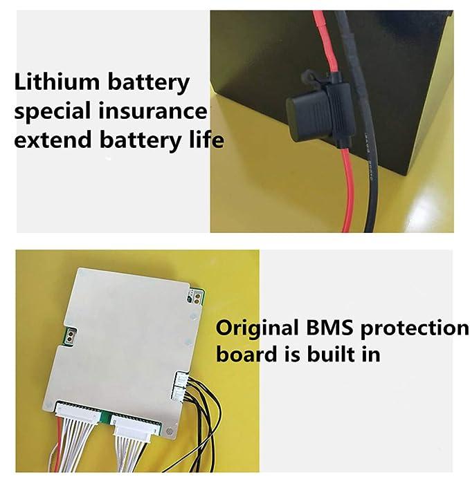 Amazon.com: Batería eléctrica para bicicleta de alta ...