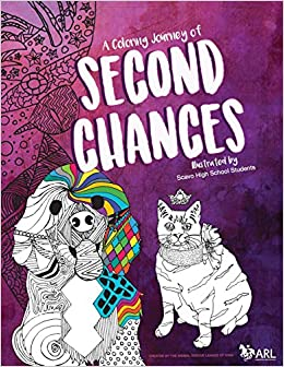 Amazon ARL Scavo Coloring Book The ARLs Second Chances Features 20 Animal Illustrations Of Rescued Animals Were Drawn By