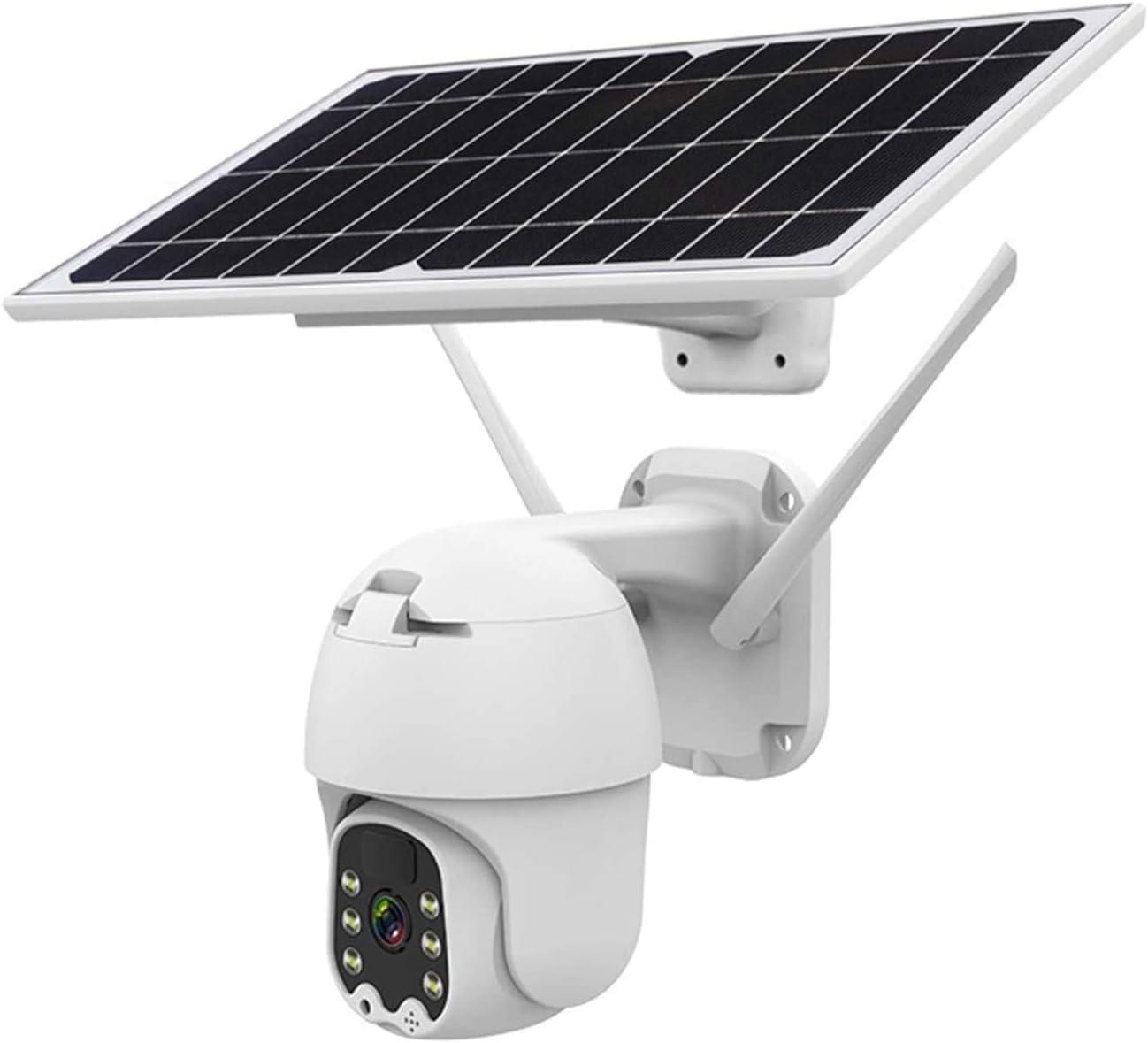 AAFLY Cámara inalámbrica de PTZ de la batería Solar 4G / WiFi, HD 1080P Aparieve al Aire Libre 2MP CCTV CCTV Inicio Video Video Vigilancia IP cámara IP, detección de Movimiento de Radar PIR (4G)