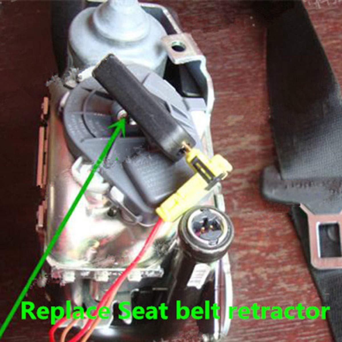 DERCLIVE Herramienta de Diagn/óstico de Emulador de Simulador de Airbag Universal para Reparaci/ón de Sistema Srs de Airbag de Coche Negro