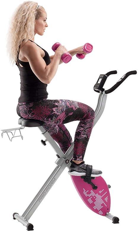 CADENCE. Proform Unisex X-Bike Elite Pink, faltbar: Amazon.es ...