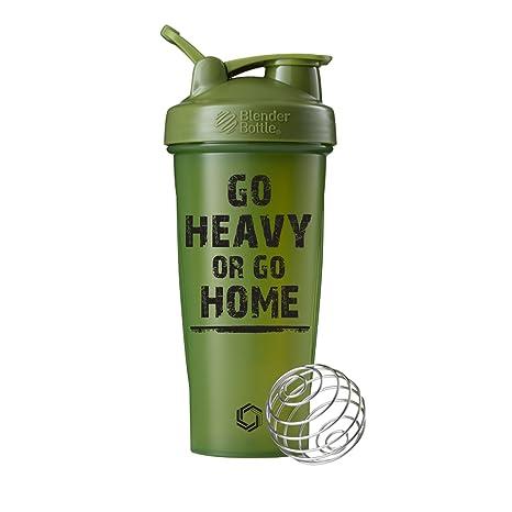 Go Heavy or Go Home on BlenderBottle - Vaso Mezclador clásico ...