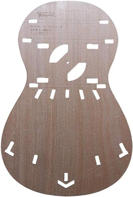 Plantilla de diseño de guitarra clásica para Torres 2 ...