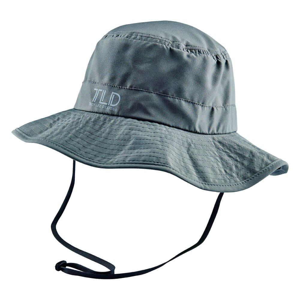 Troy Lee Designs Summit 2016 Mens Bucket Hat Gray L/XL 740363902