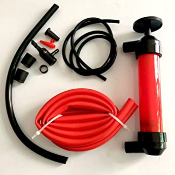 Auto Chemical Liquid Water Oil Air Fuel Gas Transfer Siphon Tire Siphon Gas Liquid Hand Pump Tube Inflatable Pump Automobiles & Motorcycles