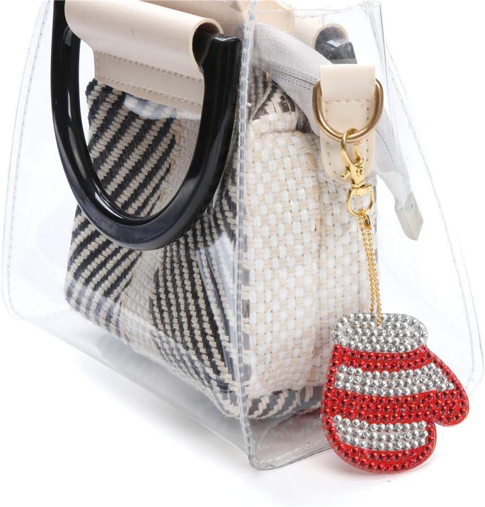 Fullfun Women Big Shoulder Bag Mid Shoulder Bag Small Bag C Card package Set