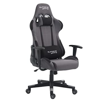 Silla de oficina gaming Swift Racer Chair, estilo Racing Gamer, sillón ergonómico giratorio,
