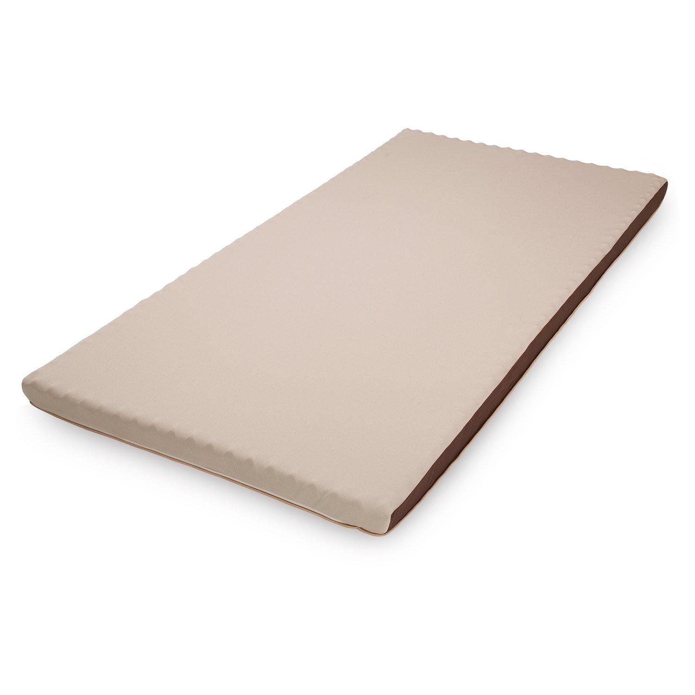 西川 ムアツ マットレスパッド セミダブル 120x195cm 厚さ5.5cm 【muatsu マットレスパッド 】 60ニュートン のべタイプ しっかりした寝心地 点で支えるムアツふとん B075WMXV5R120×195cm