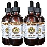 Marjoram Liquid Extract, Organic Marjoram (Origanum majorana) Tincture Supplement 4x4 oz