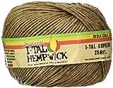 I-Tal Hemp Wick ~ Spool ~ Made Of Organic Hemp & Bees Wax ~ 250' of Wick by Penny Lane