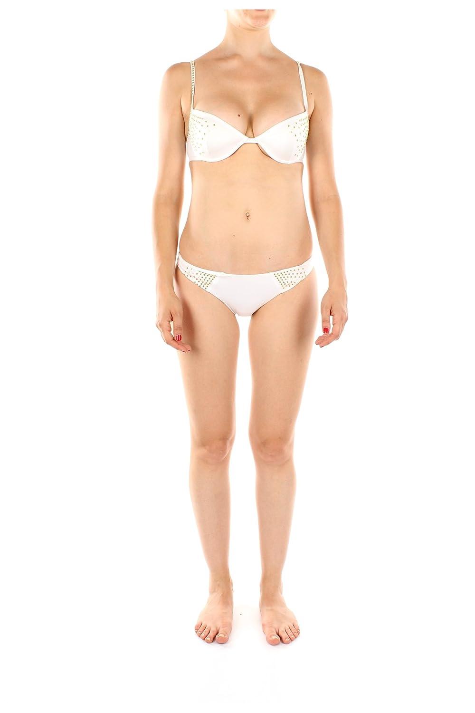 A4551100 Cavalli Just Bademode Damen Polyamid Weiß