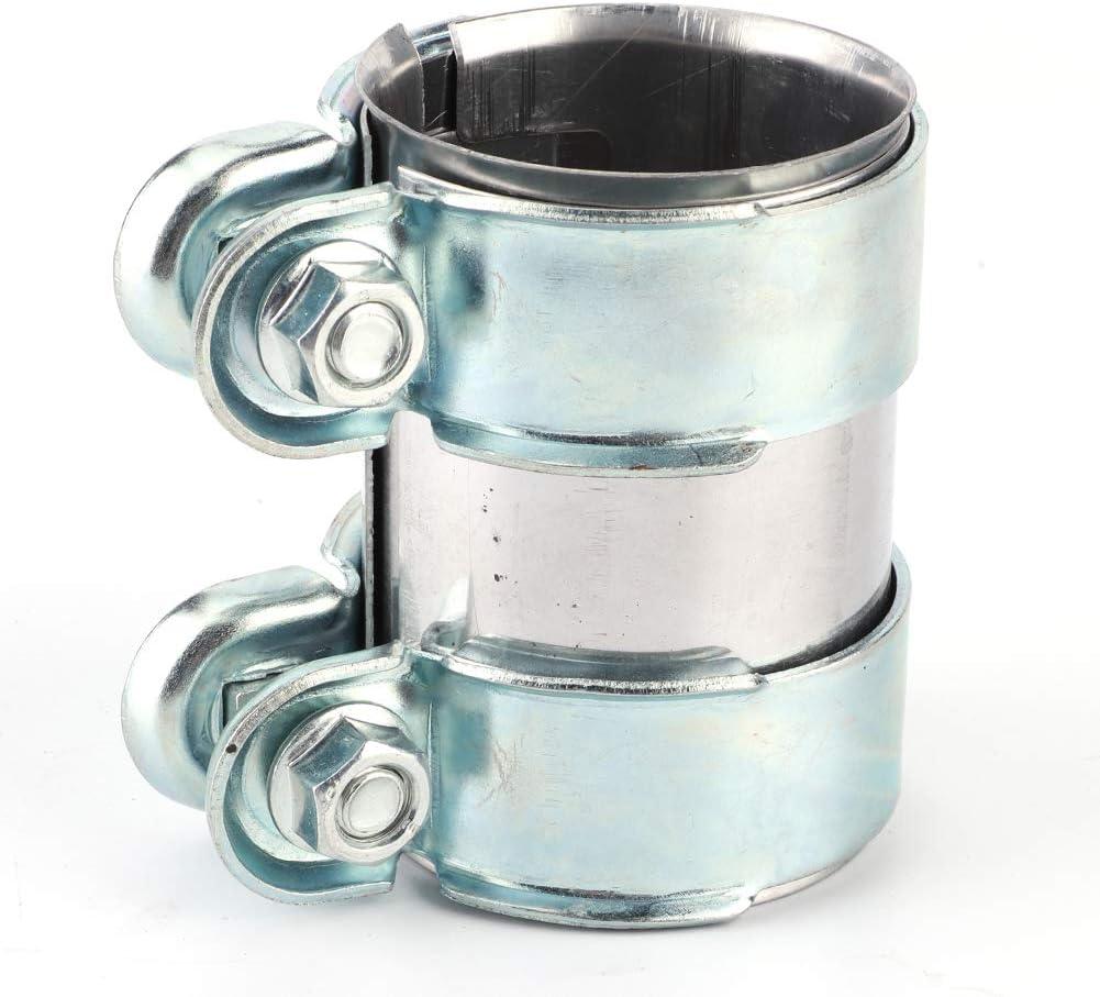 Conector de abrazadera de tubo Conector de abrazadera de tubo de escape de 60 x 95 mm 12793501 Ajuste para A3 A4 A5 A6 A7 A8