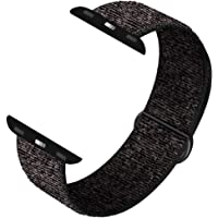 KOUUNN Compatible for Apple Watch Sport Loop Band, Lightweight Breathable Nylon Replacement Band 38mm 40mm 42mm 44mm Compatible for Apple Watch Series 5, 4, 3, 2, 1, Nike+, Edition