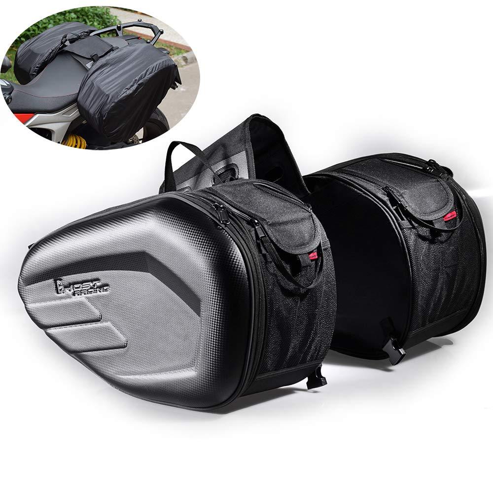 Motorcycle Side Saddle Bilateral Helmet Side Bag Motorbike Multi-function Riding Travel Bag Waterproof