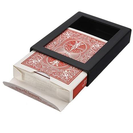 Trucos de cartas - SODIAL(R) Trucos de cartas Truco de magia de carta desaparecer Truco de magia de carta para adultos