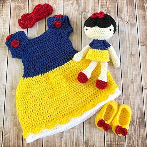 Amazon Com Princess Snow White Inspired Costume And Matching Doll