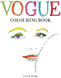 Vogue Colors A To Z Fashion Coloring Book Amazoncouk Valerie
