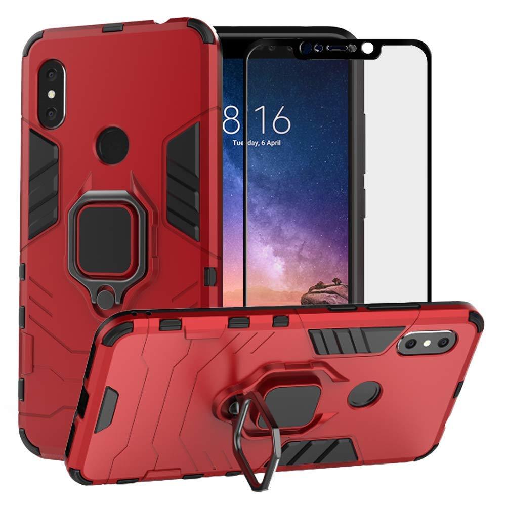 Amazon.com: BetterAmy para Xiaomi Redmi 6 Pro Case/Xiaomi Mi ...
