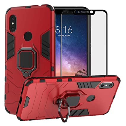 Amazon.com: BetterAmy para Xiaomi Redmi 6 Pro Case/Xiaomi Mi ...