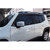 Autoclover - Juego deflectores de viento para Jeep