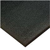 American Floor Mats High Energy Black 4' x 12' Anti-Fatigue 3/8 inch Thickness Comfort Mat