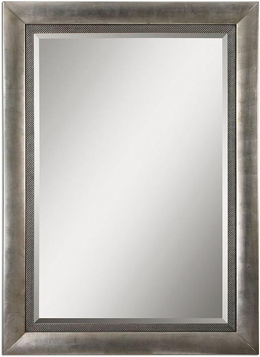 Amazon Com Intelligent Design Classic Oversize Silver Mirror