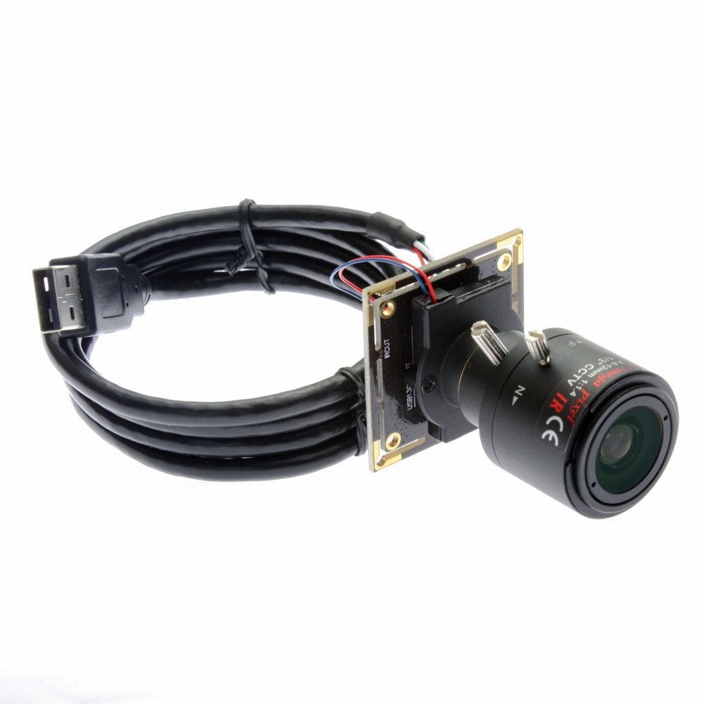 ELP 1080x960 Hd 2.8-12mm Varifocal Lens USB Webcam for Video Conference
