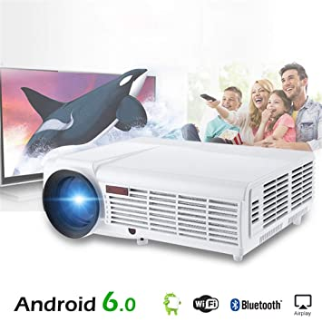 Amazon.com: Linbing123 3000 lumens Android WiFi 1080p Video ...