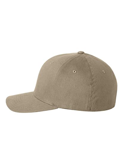 Genuine Flexfit Brushed Twill Ball Cap Hat 6377 at Amazon Men s ... 6255e503cc4