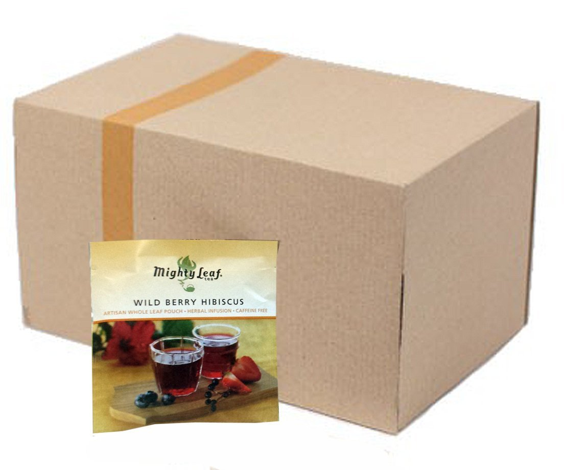 Mighty Leaf Wild Berry Hibiscus Herbal Tea (100 ct.) by Mighty Leaf