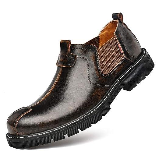 CNVIKL Zapatos Casuales para Hombre Retro, Zapatos sin ...