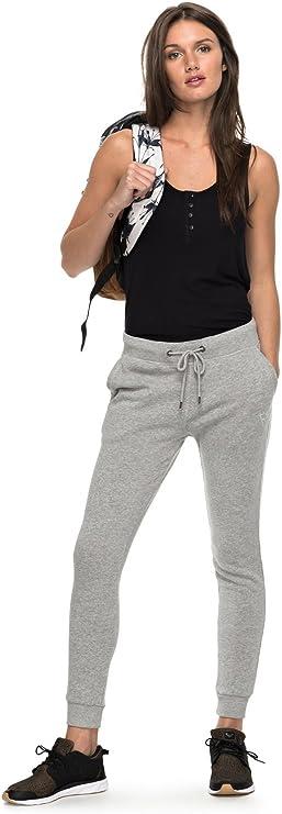 Roxy - Pantalón De Chandal - Mujer - S - Gris: Amazon.es: Ropa y ...