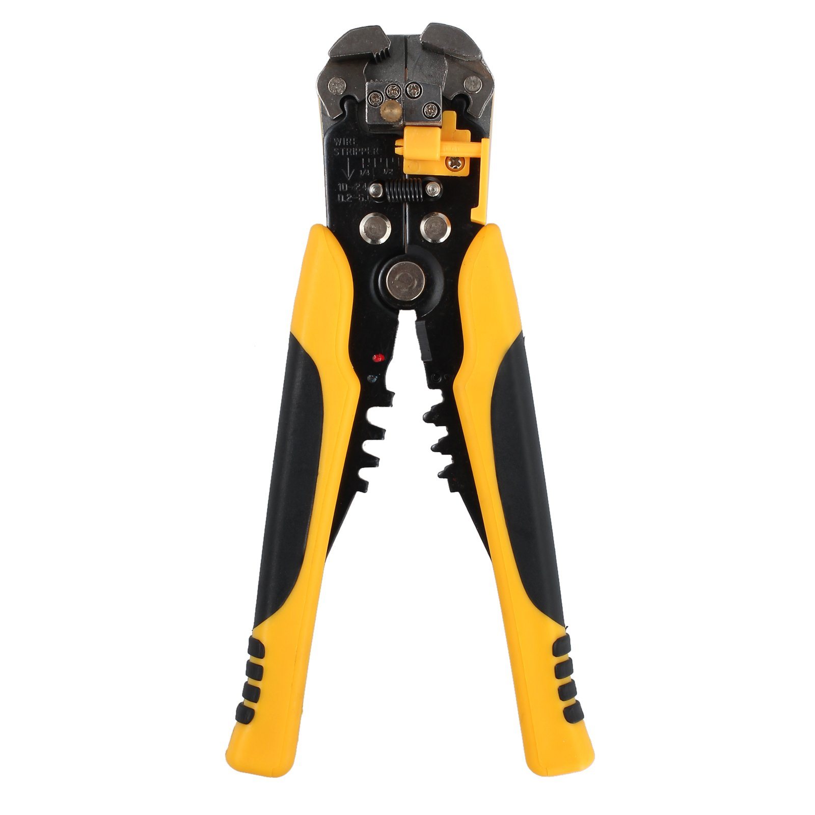 Proxima Direct Cable Crimper Wire Stripping Plier Tool Set Automatic Wire Stripper Crimper Cutter Cable Stripping Cutting Crimping Multifunctional Pliers 0.2-6 mm ²