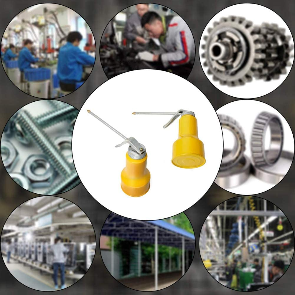 Bouteille dhuile manuelle Pompe dhuile de graissage M/étal de lubrifiant de graissage /à haute pression Bouteille dhuile manuelle