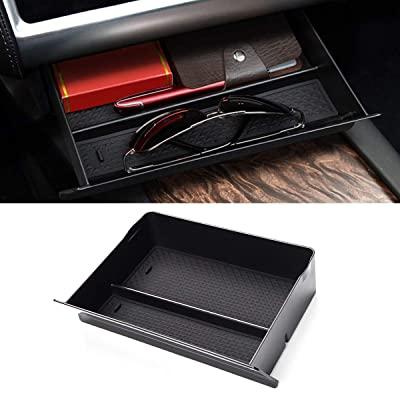 Jaronx for Tesla Model S/Model X Cubby Drawer,Center Console Organizer Storage Box for Tesla Model S/Model X (2012-2020 2020): Automotive