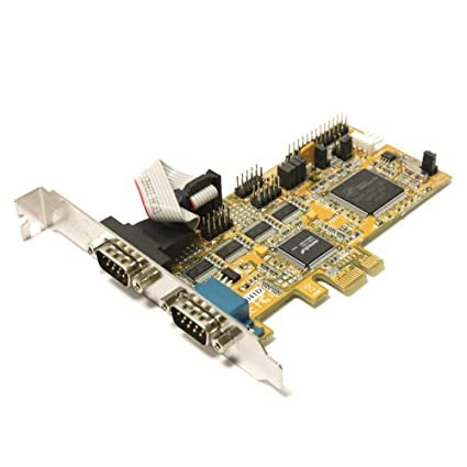 Cablematic - Tarjeta PCI-Express Serie/Paralelo 16C950 (4S/1P ...