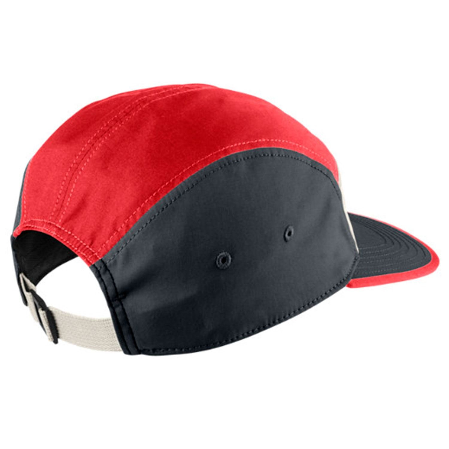 abba73040fc2d Nike SB Men's Blocked 5 Panel Hat OS Crimson: Amazon.co.uk: Clothing